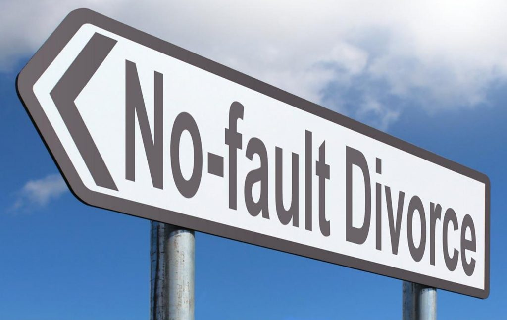 Is the no-fault divorce principle becoming increasingly urgent